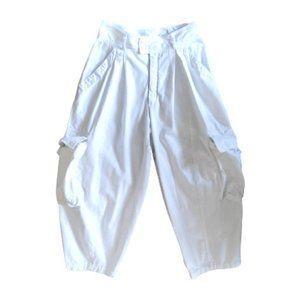 Very 80s very high waist crop Esprit pants